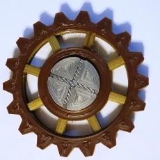 Steampunk Gear Fidget Spinner