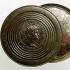 Two Roman monetary medallions of Nero image