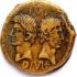 Roman copper coin image