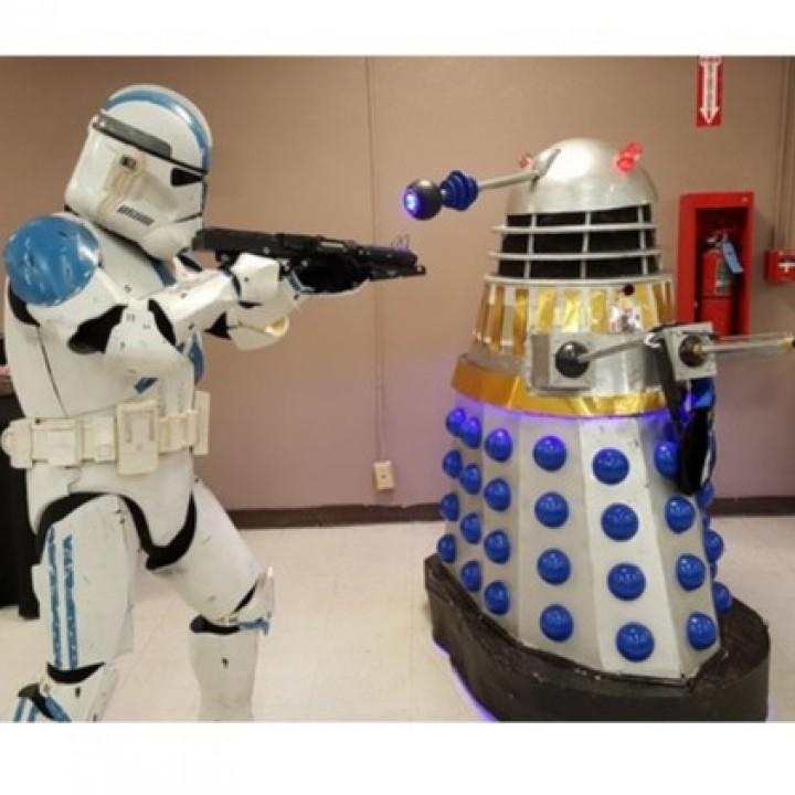 Full Size Dalek Neck Rings