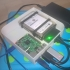 """Raspberry Pi enclosure for storj.io cloud (single and double 2.5"""" hdd/sdd) image"""