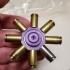 Bullet Shell Spinner print image