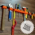 3D printed tool hanger image