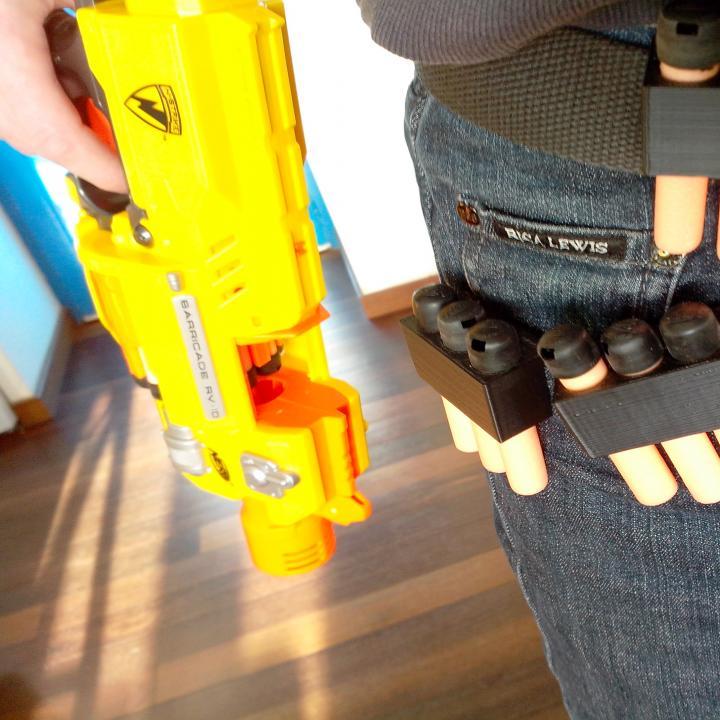 Nerf darts cartridge belt