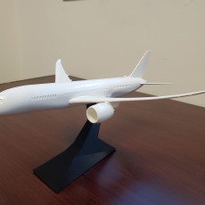 Picture of print of Snap-Fit Passenger Airplane 787-8