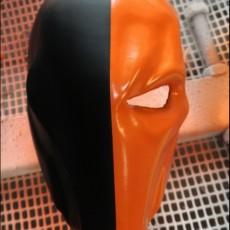 Deathstroke mask Arkham Origins with Back Piece