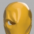Deathstroke mask Arkham Origins with Back Piece image