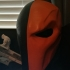 Deathstroke mask Arkham Origins with Back Piece print image
