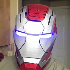 Picture of print of Iron Patriot Helmet (Iron Man) This print has been uploaded by Rob Kilgallon