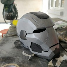 Picture of print of Iron Patriot Helmet (Iron Man) This print has been uploaded by Bjarke Mejlvang