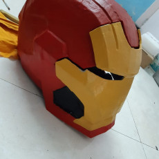 Picture of print of Iron Patriot Helmet (Iron Man) This print has been uploaded by Amit Jadwani