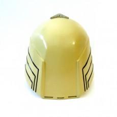 Picture of print of Battlestar Galactica Colonial Viper Pilot Helmet