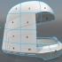 Battlestar Galactica Colonial Viper Pilot Helmet image