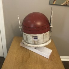 Picture of print of Imperial Super Commando Helmet (Star Wars)