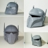 Imperial Super Commando Helmet (Star Wars) image