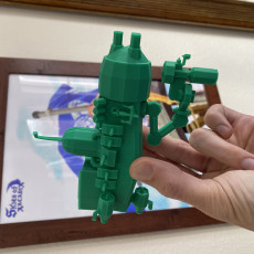 Picture of print of Chameleon Air Ship