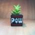 Retro POW Mario Block Planter primary image
