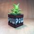 Retro POW Mario Block Planter image