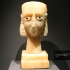 South Arabian alabaster head of a woman image