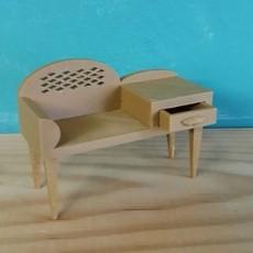 telephone seat-table