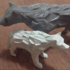 Low Poly DireWolf - Game of Thrones