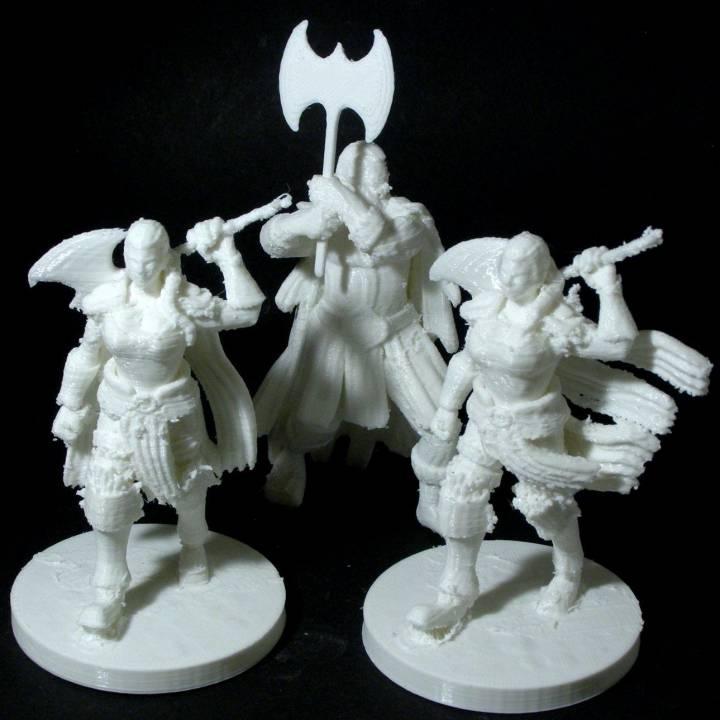 Human Barbarian Miniatures