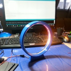 Picture of print of LED Ring Lamp - 3D Printing Build