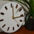 Clock (Concrete 3D Printed Mold or Fully 3D Printable) image