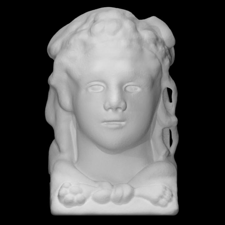 Roman marble herm of Hercules