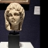 A Roman marble portrait head of a young woman image