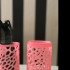 Sunglasses case - Voronoi print image
