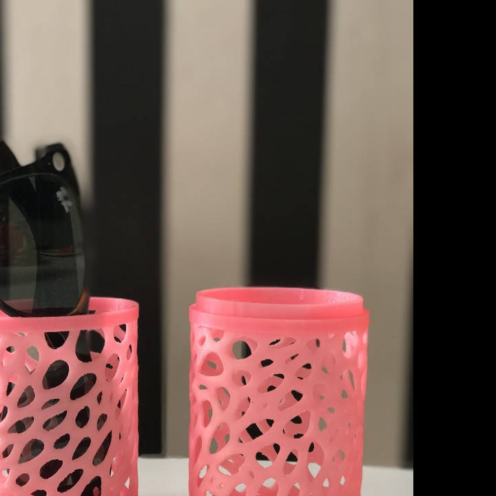 Picture of print of Sunglasses case - Voronoi This print has been uploaded by Entresd