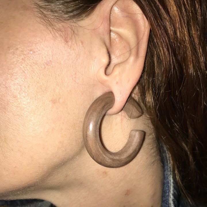 10mm Gauge Ear Ring
