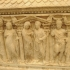 Nuptial sarcophagus with Castor and Pollux image