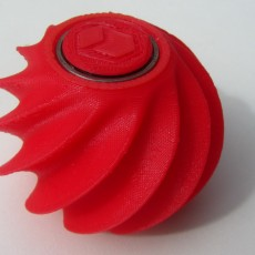 Picture of print of Optical illusion fidget ball