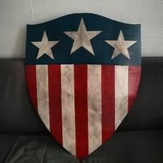 Captain America Shield WW2
