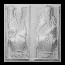 Obadiah and Saint Thomas from the Door of Forgiveness