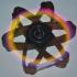 Atomic Glow Stick Fidget Spinner image