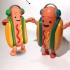Snapchat Dancing Hotdog Meme image
