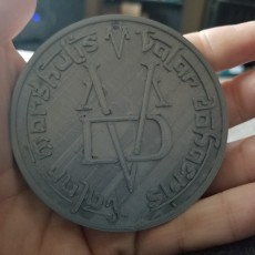 Picture of print of Coin of The Faceless Man Pendant - Game of Thrones