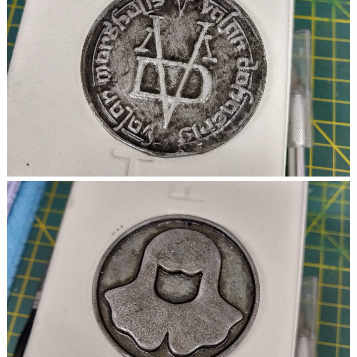 Coin of The Faceless Man Pendant - Game of Thrones