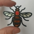 Manchester Peace Bee Pendant image