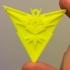 Pokemon Go Team Instinct Pendent Logo image