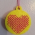 Cross Stitch Pendant Heart image