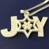 Joy Christmas Ornament image