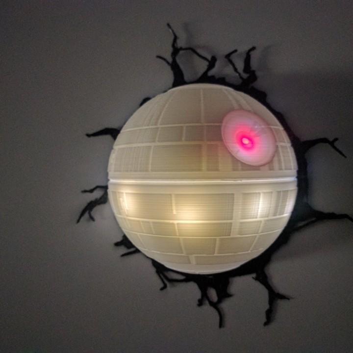 Deathstar Lamp Image