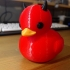 Devil rubber duck image