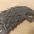 Direwolf Sword Bookmark - Game of Thrones - House Stark image