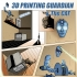 Wall-mounted Tool / Pen holder 3D Printing Guardian image