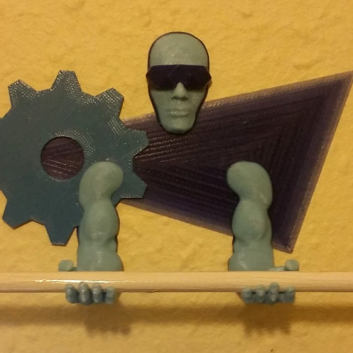 Wall-mounted Tool / Pen holder 3D Printing Guardian